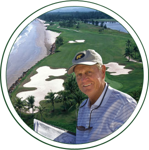 A signature course by Jack Nicklaus